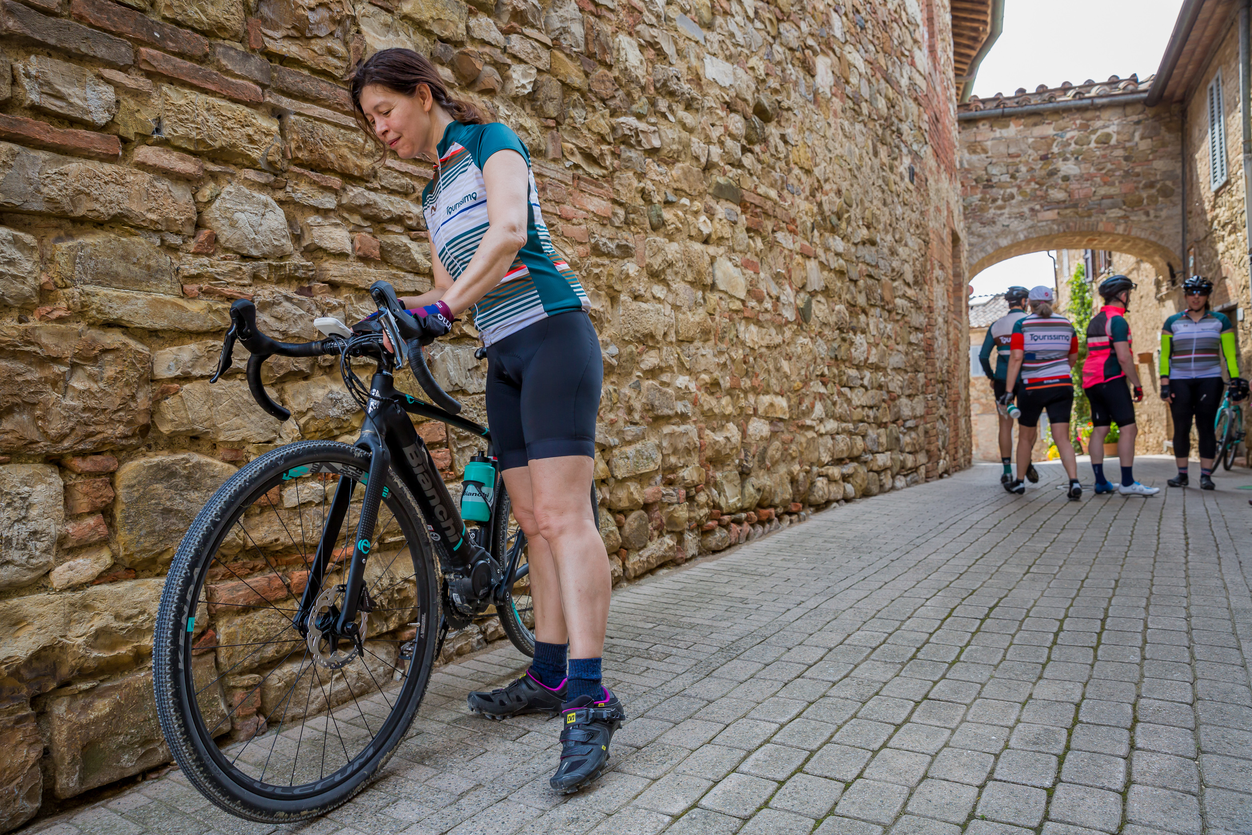 ride an ebike on a cycling tour of italy