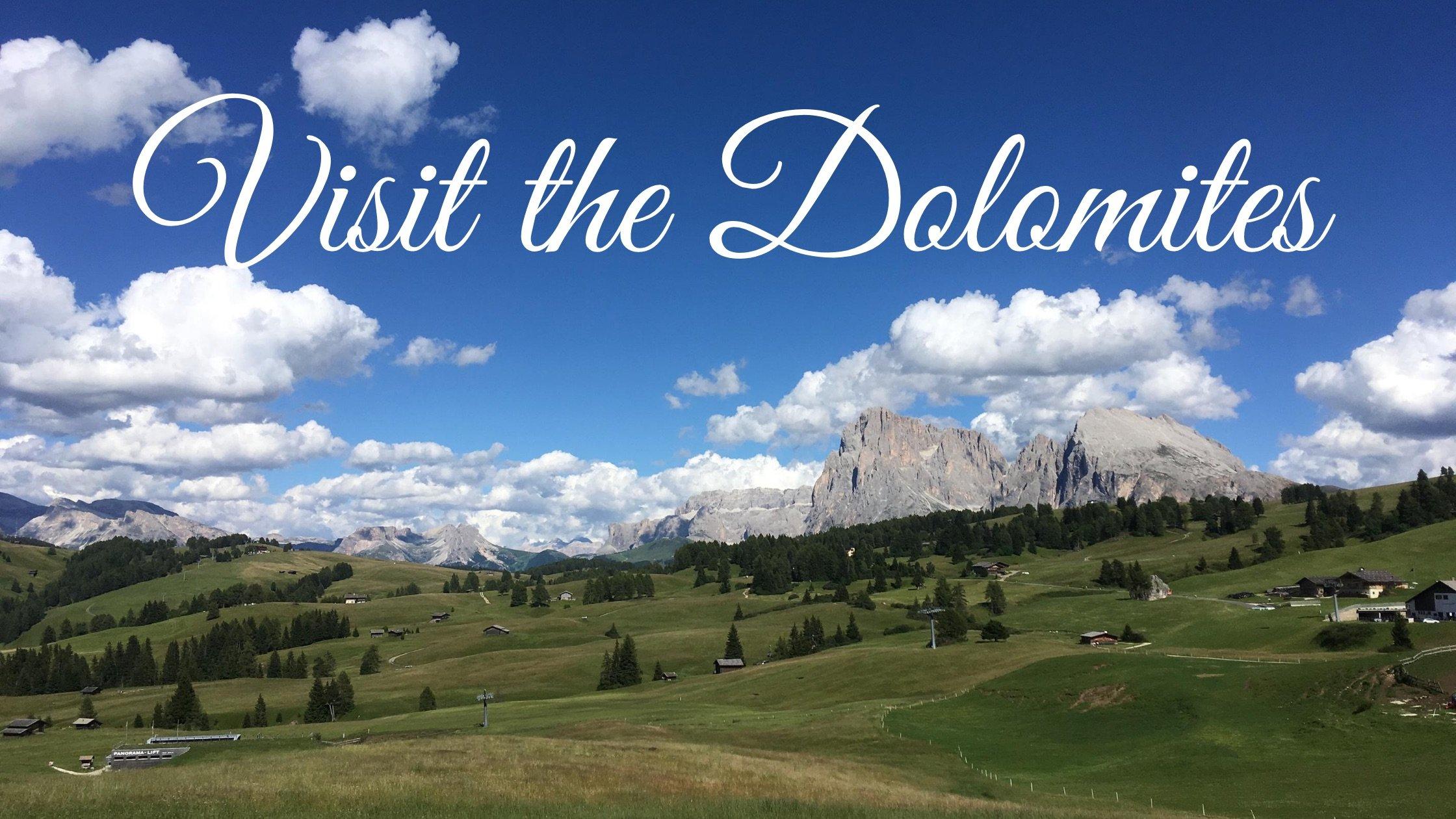 Visit the Dolomites Blog