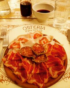delicious food in italy