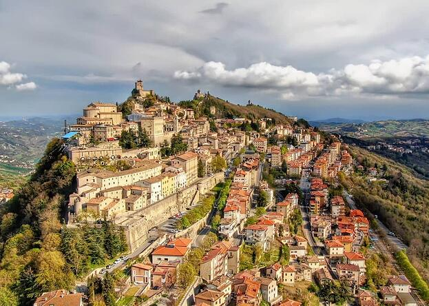 view of san marino