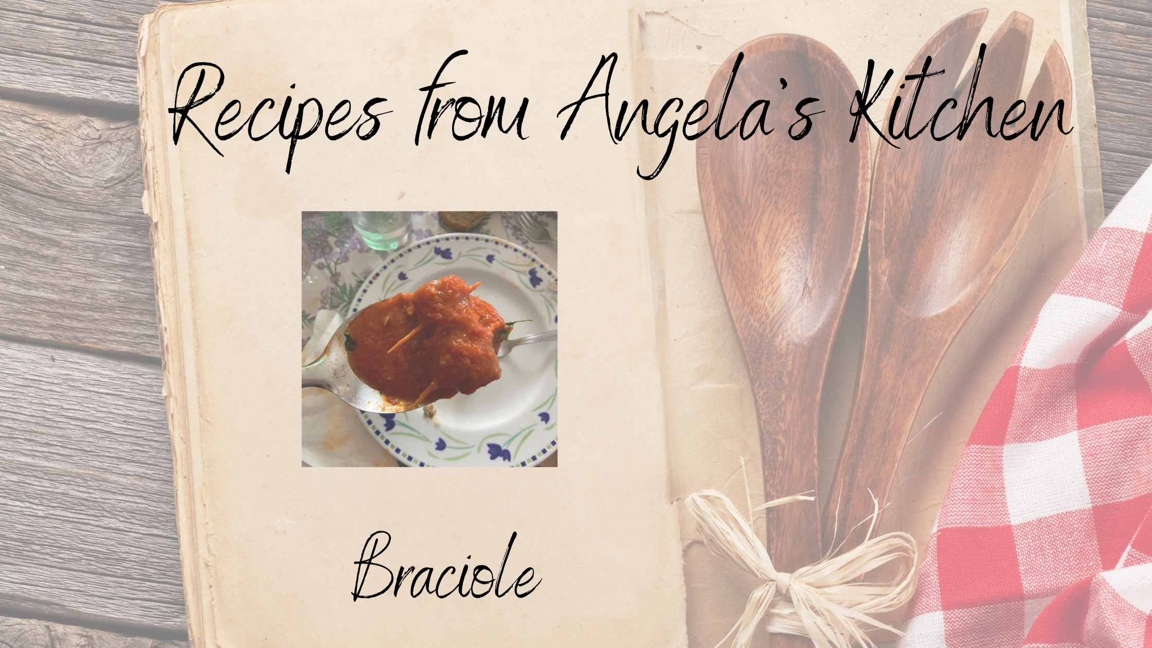 Braciole Blog
