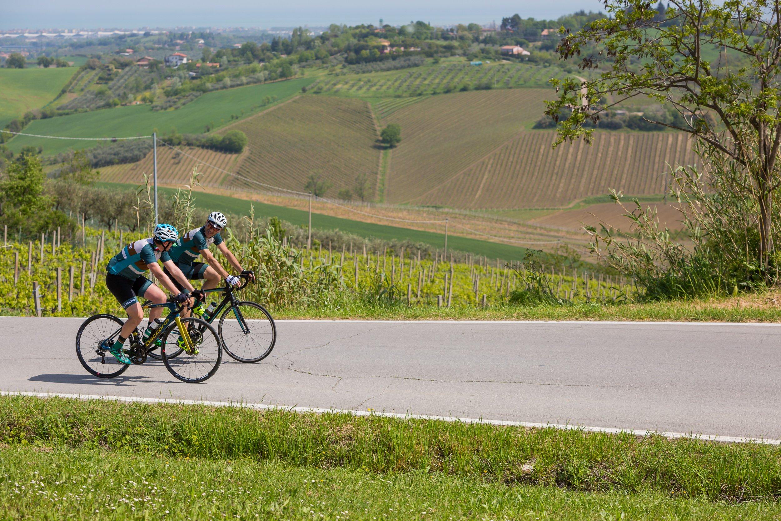 Tourissimo Nove Colli Cesenatico hills