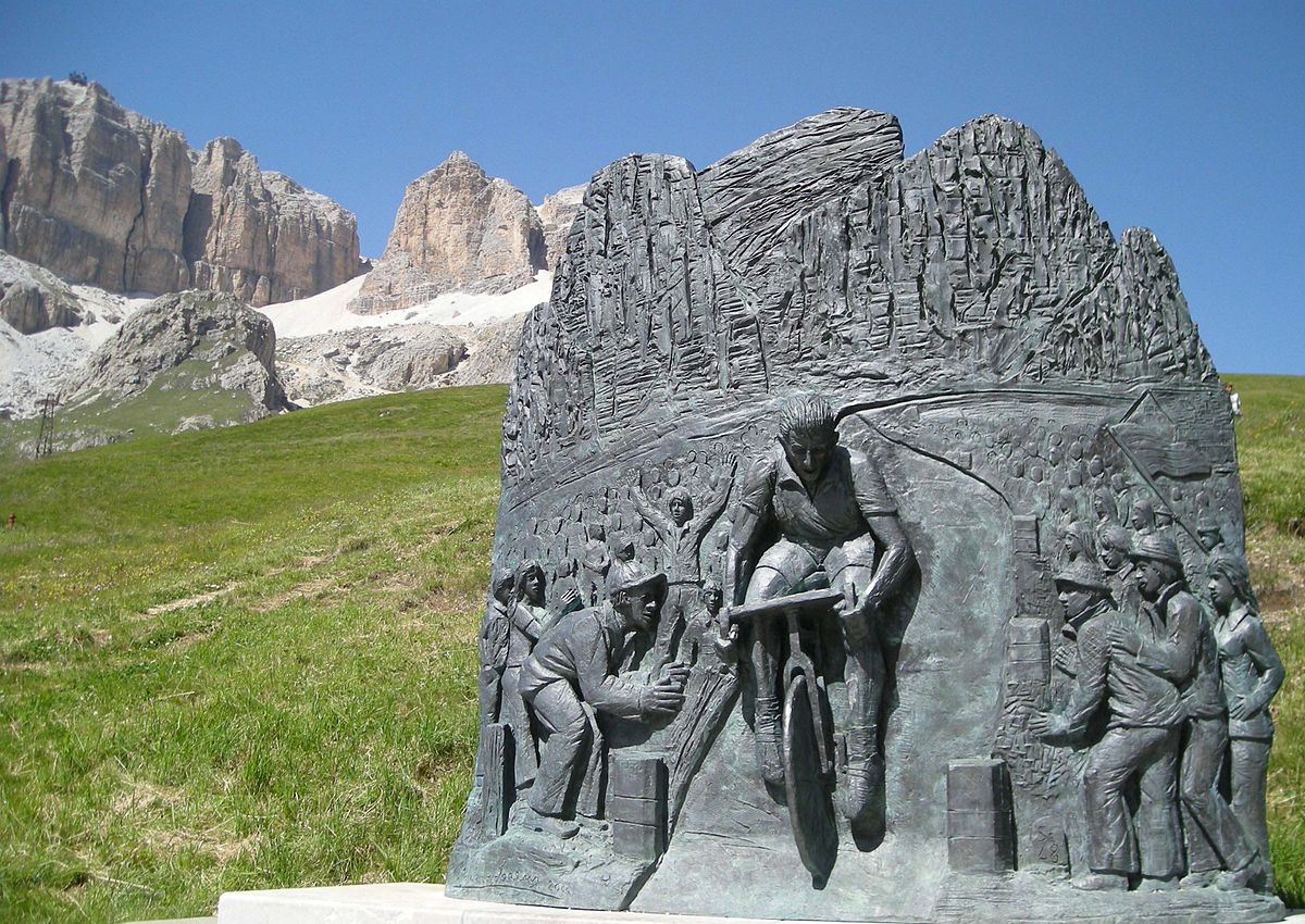 Fausto Coppi memorial Passo Pordoi