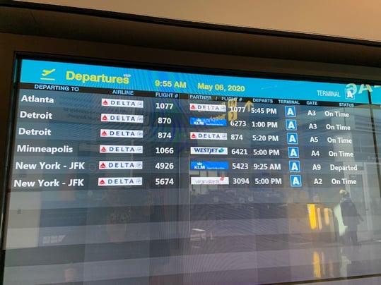 TRAVEL Flight Screen 2