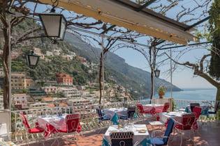 Hotel Poseidon Positano terrace