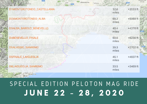 Peloton Tourissimo Ride Mileage (1)