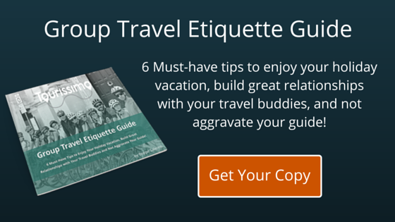 tourissimo group travel etiquette