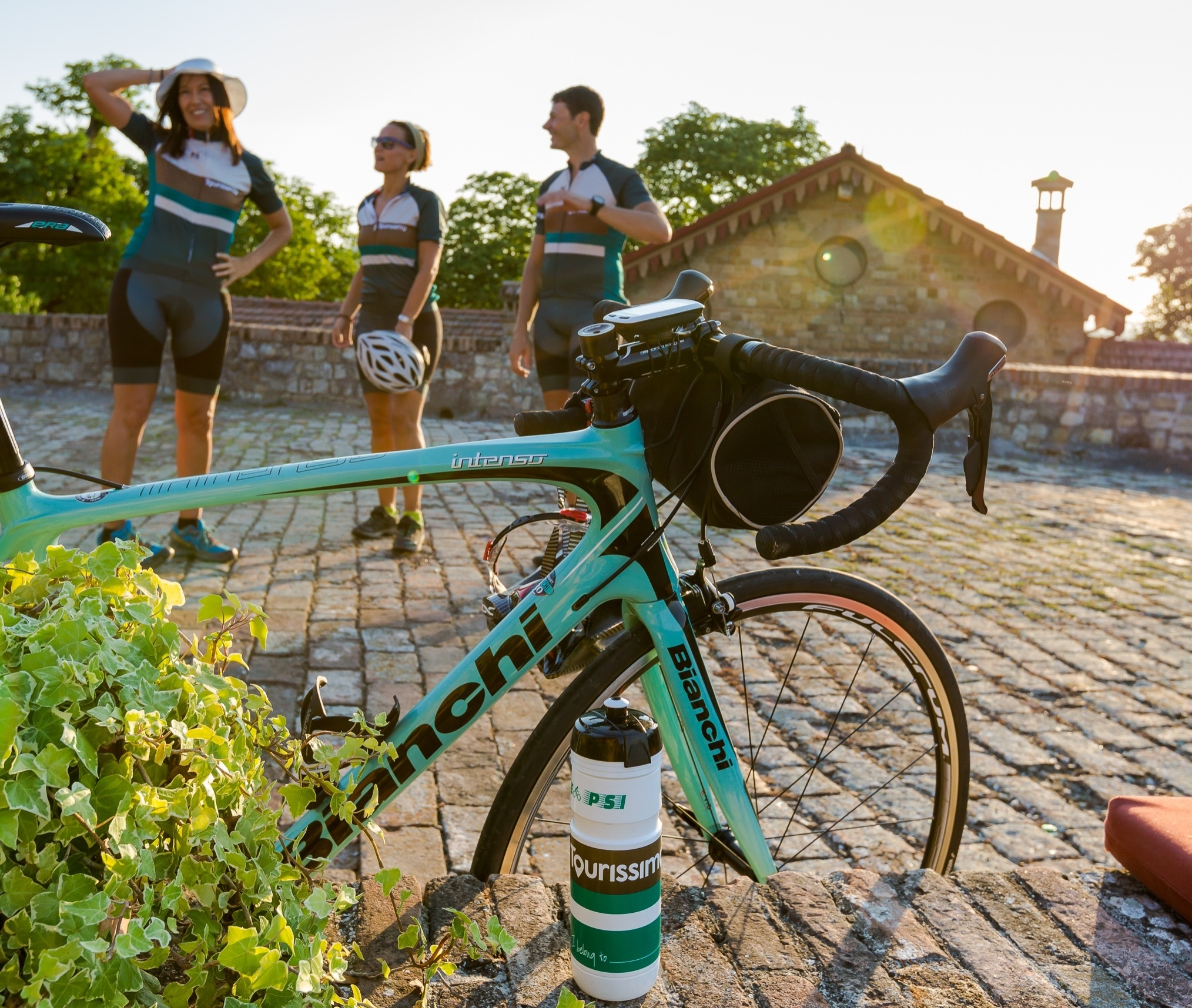 Beautiful Bianchi Bikes for Our Cycling Tours of Italy
