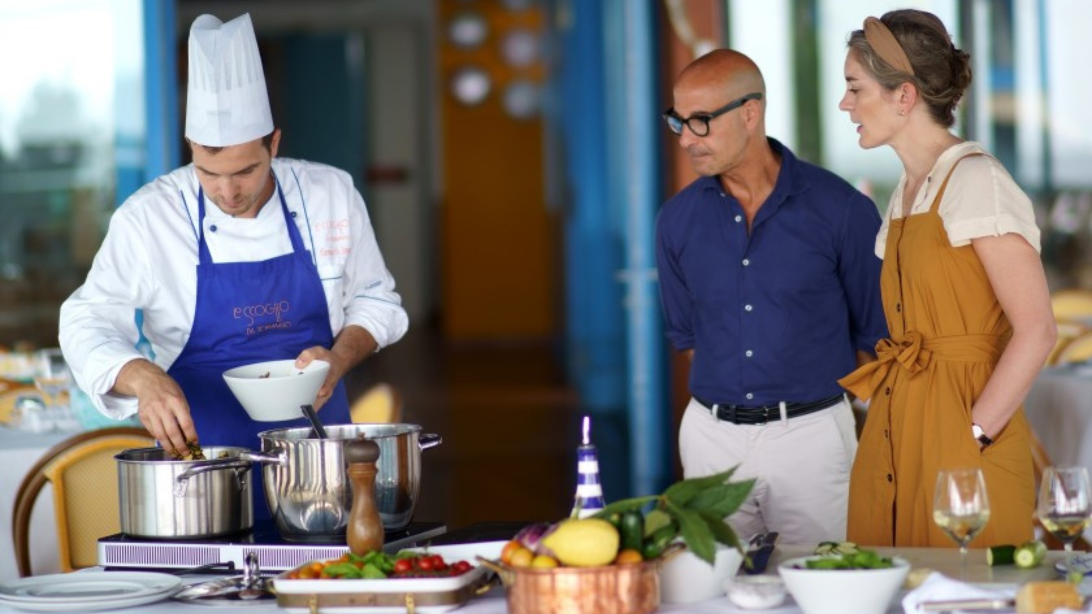 Food as a Language: Stanley Tucci in Big Night and Searching for Italy
