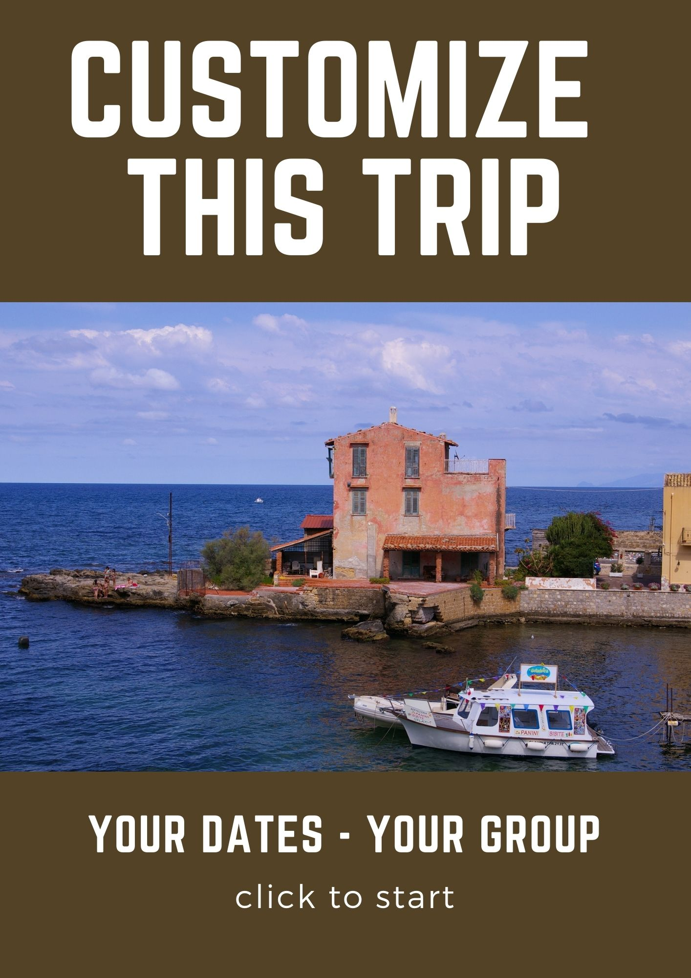 Customize this trip Sicily