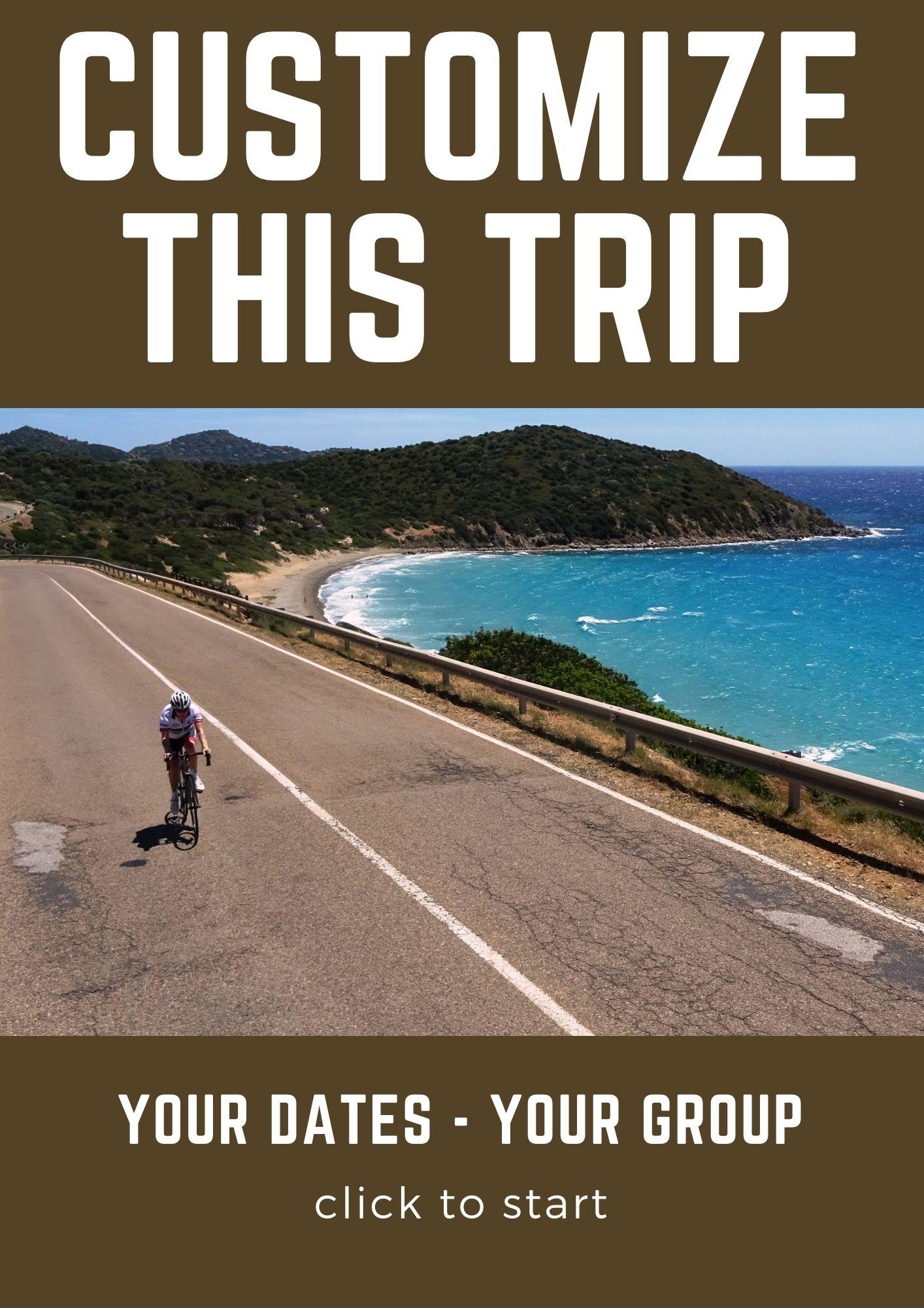 Customize this trip Sardinia